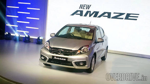 2016 Honda Amaze facelift launched in India at Rs 5.29 lakh