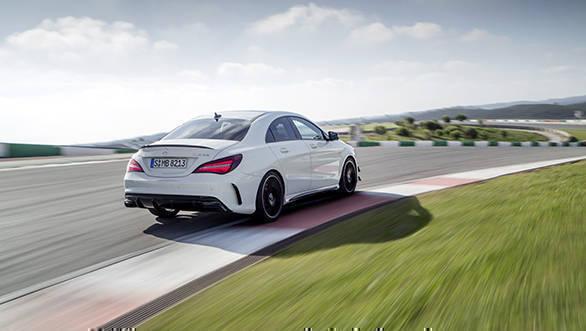 New Mercedes-Benz CLA 45 AMG