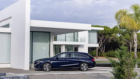 New Mercedes-Benz CLA Shooting Brake 7