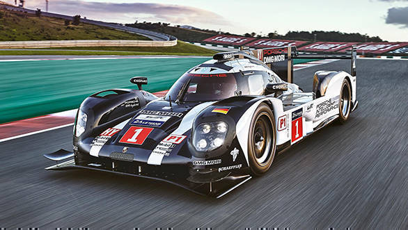 Porsche unveil the 2016 919 Hybrid LMP1