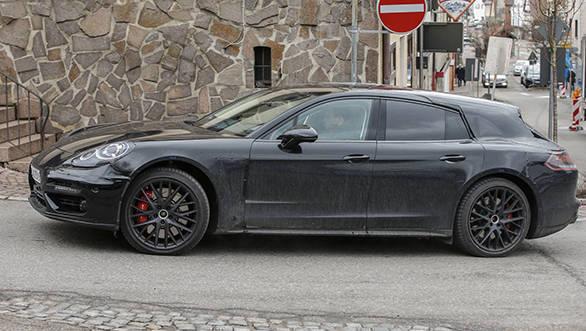 Porsche Panamera Shooting Brake two