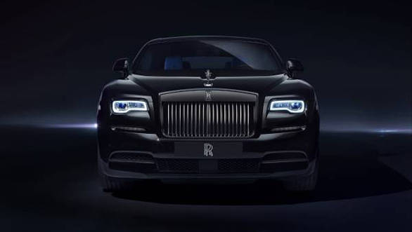 Rolls Royce Black Badge six