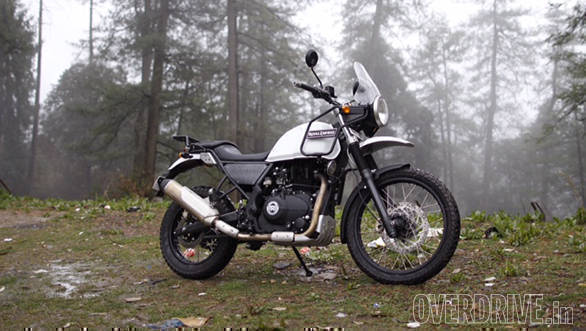 2016 Royal Enfield Himalayan First Ride Review Overdrive