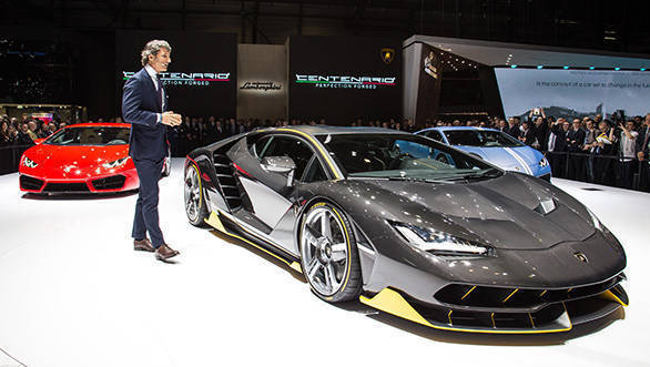 Stephan Winklemann Lamborghini
