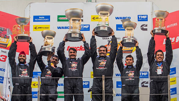 2016 Tata T1 Prima Truck Racing Championship: Jagat Singh and Nagarjuna A win the Super Class