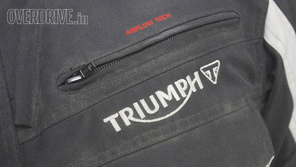 Product review: Triumph Traveller jacket