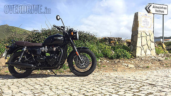 Triumph Bonneville T120 Black First Ride Review Overdrive