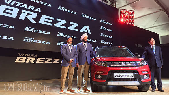 Maruti Suzuki Vitara Brezza launched in India at Rs 6.99 lakh