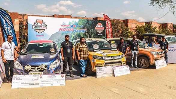 Vitara Brezza makes a winning start in Maruti Suzuki National Super League Rally Championship 2016