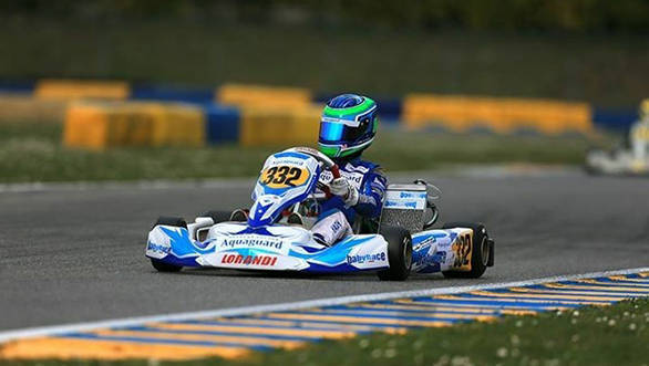 Steep learning curve for Yash Aradhya in 2016 WSK Super Masters Series