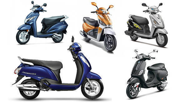 Spec comparison: New Suzuki Access 125 vs Suzuki Swish 125 vs Honda Activa 125 vs Mahindra Gusto 125 vs Piaggio Vespa 125