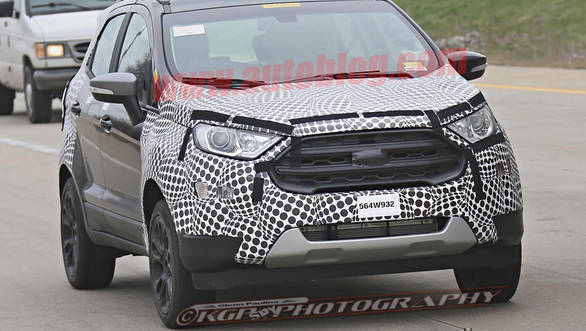 2017 Ford EcoSport Spy Shot 1