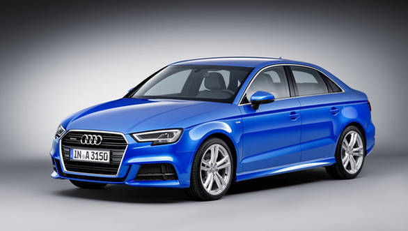 India-bound Audi A3 facelift unveiled