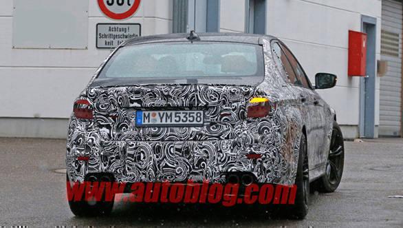 BMW M5 spied (1)