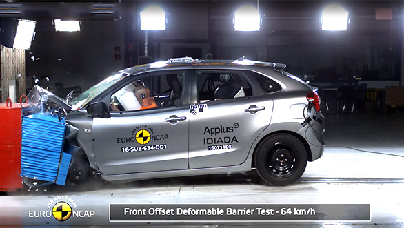 Baleno crash test(2)