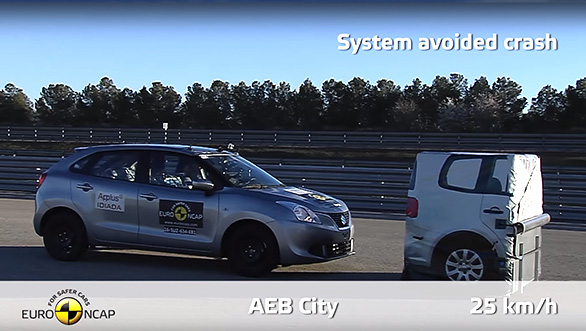 Baleno crash test(7)