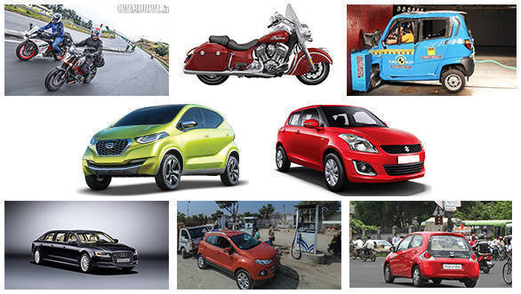 #ODRecap: Odd-Even rule, redi-GO showcase, Saluto RX launch, fuel price update and one-off Audi A8