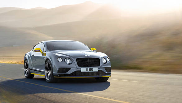 Bentley Continental GT Speed Black Edition coupe