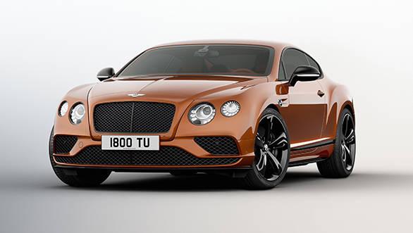 Bentley Continental GT Speed Black