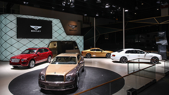 2016 Beijing Motor Show: Bentley Mulsanne First Edition unveiled