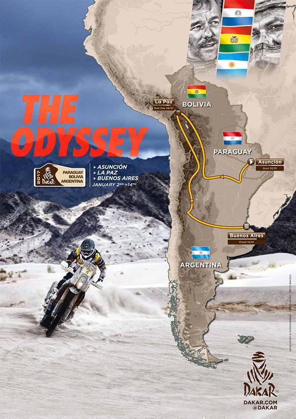 Dakar_2017 route