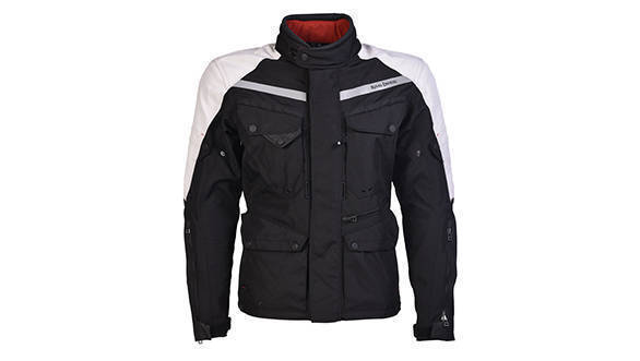 Darcha - 4 Season Touring Jacket (Black & Silver)