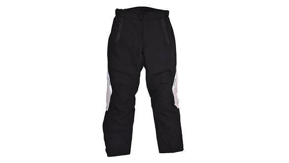 Darcha - 4 Season Touring Textile Trousers (Black & Silver)