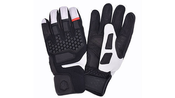 Darcha Warm Weather Gloves (Black & White)
