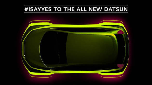 Datsun redi-GO market-ready model teased ahead of April 14 debut