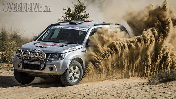 2016 Maruti Suzuki Desert Storm: Aabishek Mishra holds the lead in Xtreme Category after Leg 1