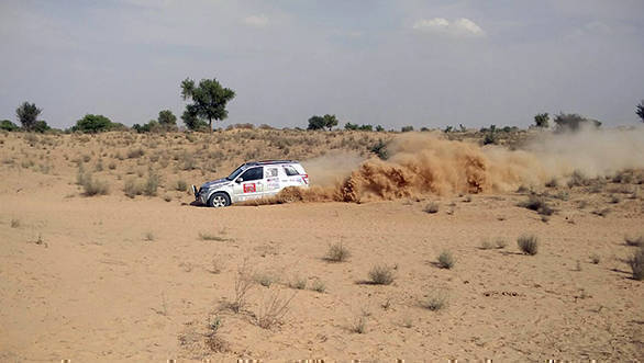 2016 Maruti Suzuki Desert Storm: Aabhishek Mishra continues to lead Xtreme category after Leg 2