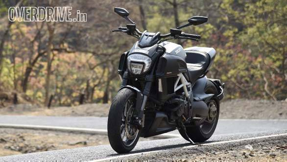 Ducati Diavel Carbon road test review