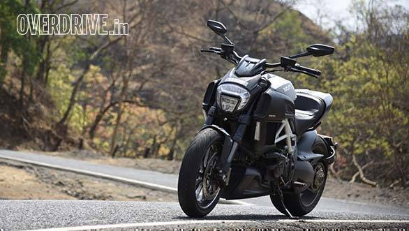 Ducati Diavel Carbon Road Test Review Overdrive