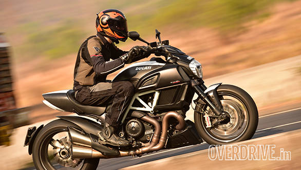Image gallery: Ducati Diavel Carbon road test review