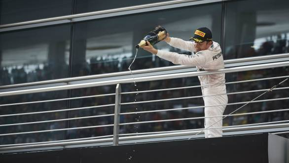 Rosberg's clean run to first place at the Chinese GP sees him extend his lead at the head of the championship standings
