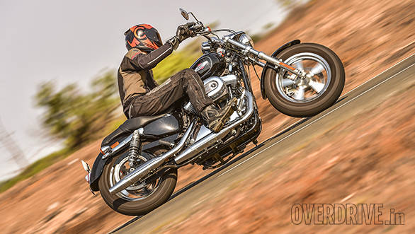 Harley-Davidson 1200 Custom road test review