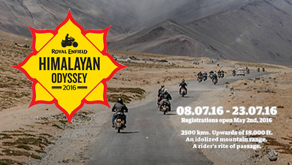 2016 Himalayan Odyssey announced