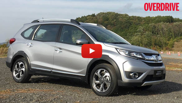 Video review: India-bound Honda BR-V first drive