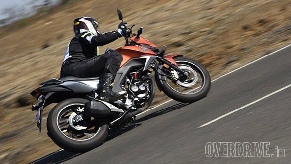 Honda Cb Hornet 160r Road Test Review Overdrive