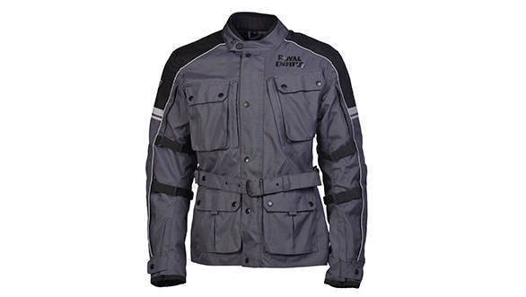 KAZA - CLASSIC ADVENTURE TOURING JACKET (Grey)