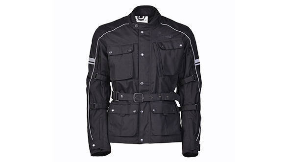 Kaza - CLASSIC ADVENTURE TOURING JACKET (Black)