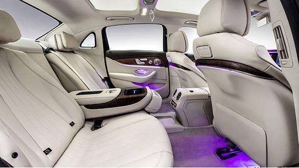 Langversion der neuen E-Klasse Limousine, Interieur Long-wheelb