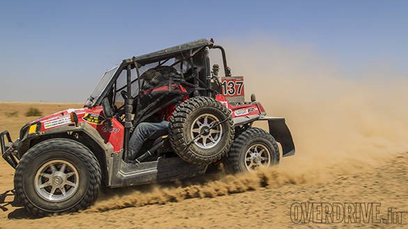The Polaris' weren't the fastest vehicles in the rally. However, they managed to get through all the stages quite comfortably