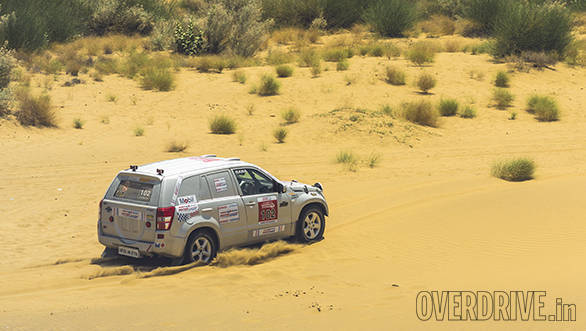 2016 Maruti Suzuki Desert Storm: Suresh Rana wins the Xtreme Category with a 70-minute lead