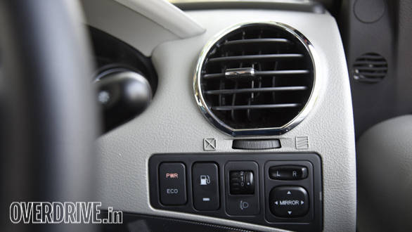 Eco Mode, like in the TUV300 produces a noticeable drop in power