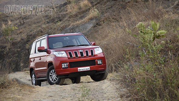 Mahindra TUV300 AMT road test review