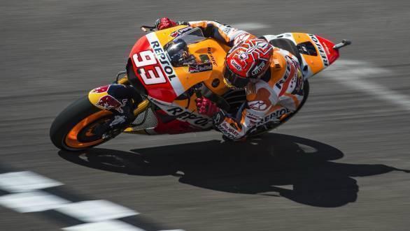 Marc Marquez MotoGP Argentina 2016 Quali