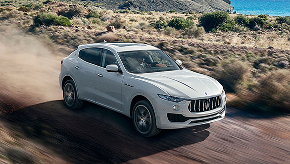 Image gallery: India-bound Maserati Levante