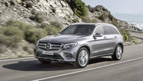 image gallery mercedes benz glc suv overdrive. Black Bedroom Furniture Sets. Home Design Ideas