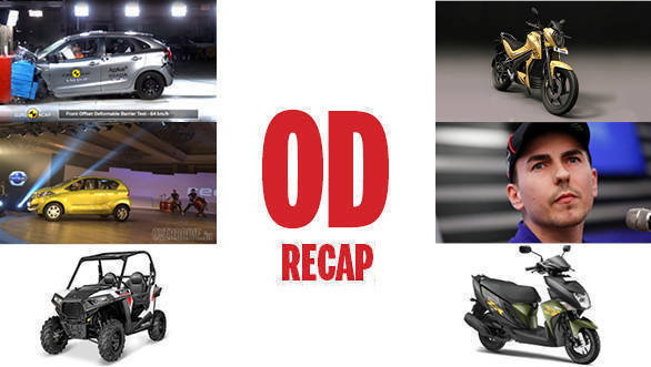 #ODRecap: Datsun redi-GO launch, Baleno Euro NCAP results and Ducati signs Lorenzo